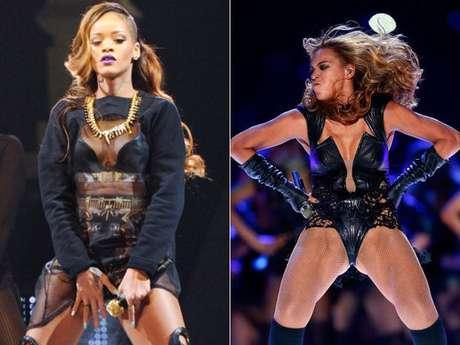 <p>Beyoncé y Rihanna, aunque comparten roles como dos reinas de la sensualidad consagradas en la escena pop mundial, una tiene más clase, elegancia y carisma que la otra, por ello queremos que nos ayuden a definir quién de las dos es más sexy o más naca. ¡Vota!</p>