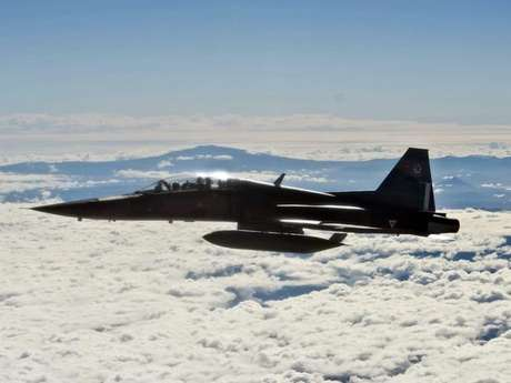 <p>Los F-22, aviones de avanzada que pueden evadir radares, fueron desplegados en la base principal de la Fuerza Aérea de Estados Unidos en Corea del Sur.</p>