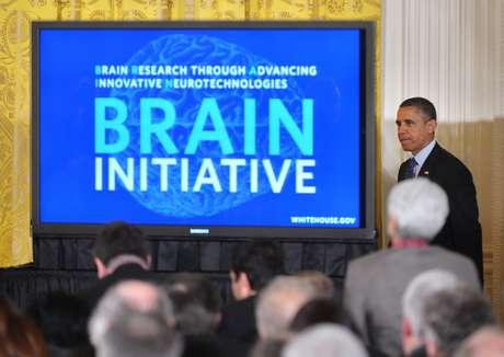 <p>Presidente americano Barack Obama anunciainvestimento de US$ 100 milhões em pesquisas sobre o cérebro</p>