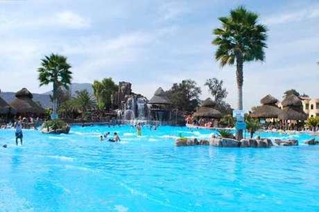 Escápate con tu familia a una experiencia divertida. En la foto, el Balneario de El Tephé, en Ixmiquilpan.