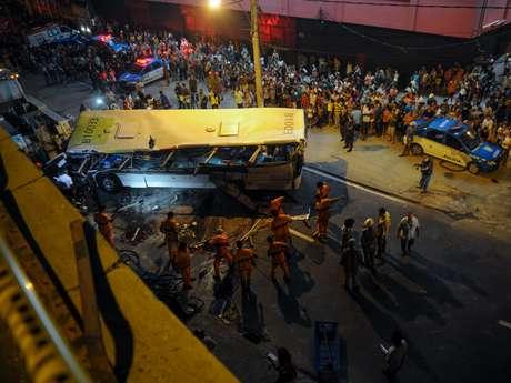 <p>Sete pessoas morreram no acidente, ocorrido no último dia 2</p>