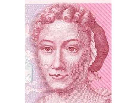 Maria Sibylla Merian estampou a nota de 500 marcos alemães, entre outras homenagens