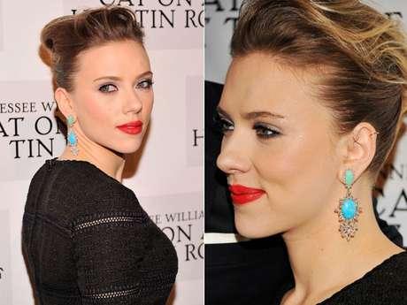 <p>Segundo o especialista, apesar da ponta do nariz de Scarlett Johanson não ser tão delicada, elatem definição</p>