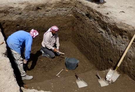 A descoberta, do tamanho de um campo de futebol, foi feita na antiga cidade de Ur, hoje Iraque