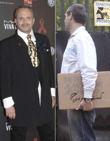Miguel bos recibe un regalo muy especial de pedro almod var - Casa de miguel bose ...