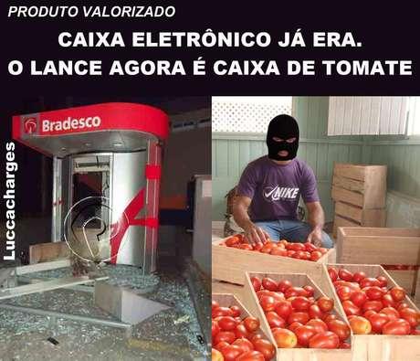 Alta no preço do tomate faz fruto ser motivo de piada na internet