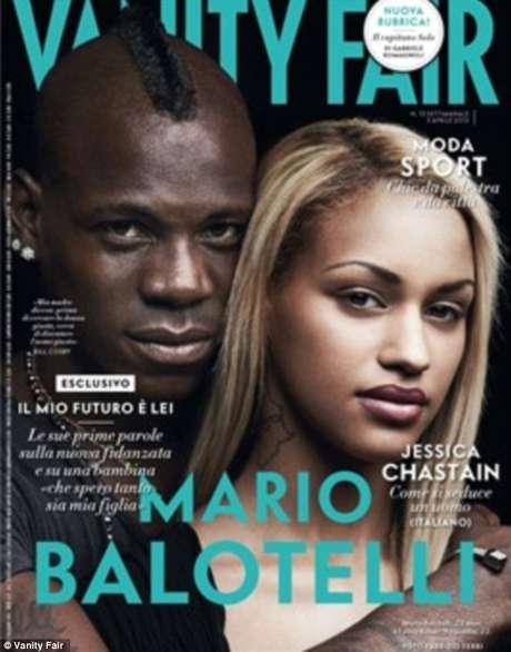 La modelo belga Fanny Neguesha ha saltado a la fama a raiz de su relación con Mario Balotelli