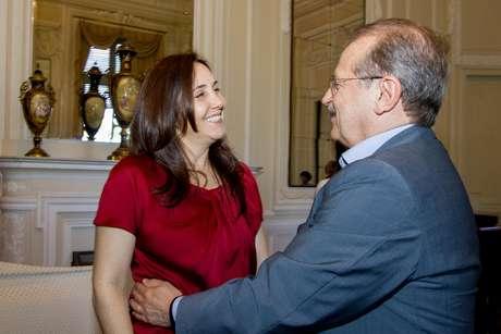 <p>Mariela Castro foi recebida pelo governador do Rio Grande do Sul, Tarso Genro (PT)</p>