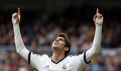 <p>Kaká foi titular no Espanhol, mas ficará de fora de jogo decisivo da Liga dos Campeões</p>