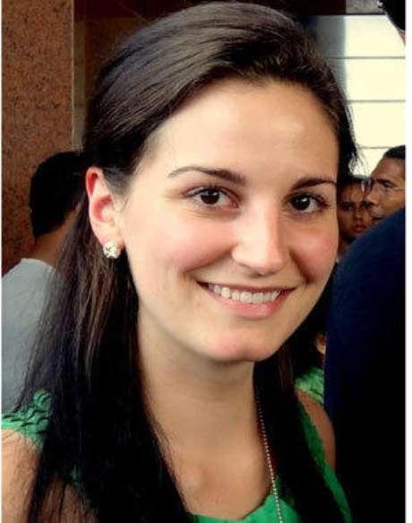 A diplomata Anne Smedinghoff, 25 anos, uma das vítimas