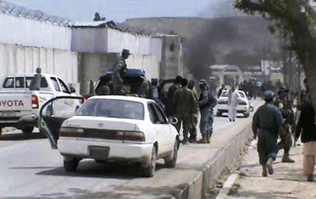 <p>Pelo menos cinco norte-americanos que estavam em um comboio de veículos na província de Zabul morreram</p>
