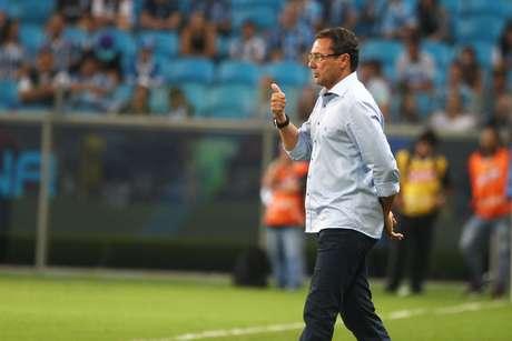 <p>Equipe deVanderlei Luxemburgo teve dificuldades para ameaçar o gol da equipe rival</p>