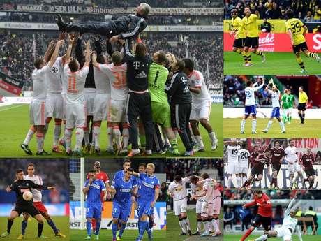 <p>Tras un par de campañas en las que Borussia Dortmund fue Campeón de la Bundesliga, por fin el Bayern Múnich logró llevarse el título cuando todavía faltan seis jornadas para que termine el campeonato. Y es que con sus 75 puntos, le sacó 20 de ventaja al Dortmund cuando restan 18 unidades por jugarse. Los bávaros lograron el título número 23 de sus vitrinas.</p>
