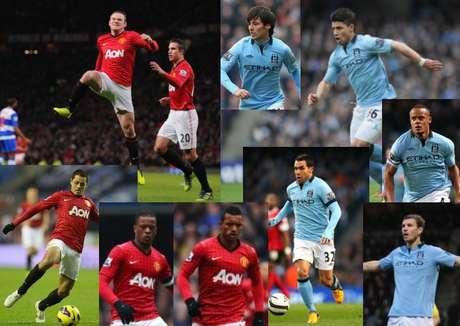 Manchester United recibe a Manchester City, en un derbi que de ganarlo le daría prácticamente el título de la Premier League.
