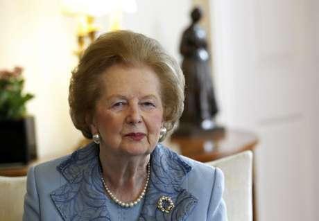 Margaret Thatcher em imagem de junho de 2010