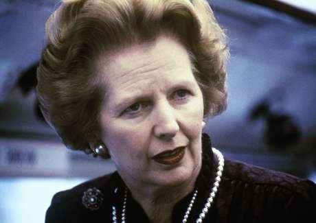 <p>Margaret Thatcher em imagem de 1969</p>