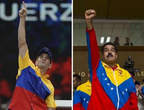 <p>Cinco distintas encuestadoras reportan similar tendencia de resultados para el 14 de abril, Maduro por encima de Capriles, contra una, que da como ganador por cinco puntos al último.</p>