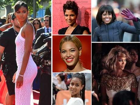 <p>Todas estas mujeres además de ser famosas y afroamericanas, tienen una característica en común: son las mujeres las mujeres de color más bellas del momento. Aquí las más sobresalientes.</p>