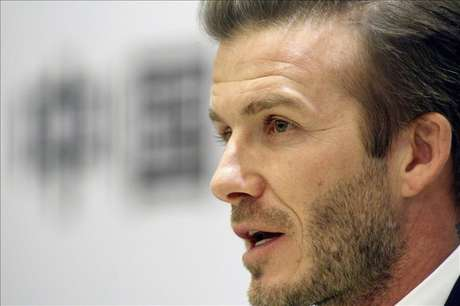 <p>David Beckham had announced in January that he would donate his salary.</p>