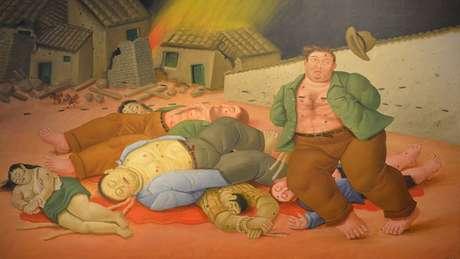 Fernando Botero es, quizás, el artista plástico latinoamericano más reconocido en el mundo. Su firma se percibe constante en cada una de sus creaciones y ha sido vehículo expresivo de sus sueños y pensamiento pero también es memoria de la realidad en América Latina.