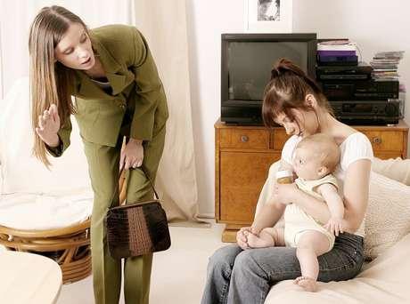 Voltar ao mercado de trabalho e deixar o bebê em casa é um dos momentos mais delicados para a mães