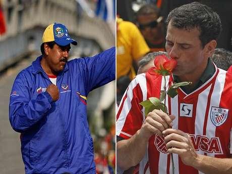 """<p class=""""text"""" style=""""margin: 0px 0px 17px; padding: 0px; border: 0px; vertical-align: baseline;"""">Las campañas rumbo a las elecciones presidenciales de Venezuela ya han terminado, este14 de abril se elegirá al mandatario que finalizará en 2019 el periodo comenzado el 10 de enero por el fallecido presidente. Terra seleccionó algunas de las frasesy hechos que le han dado calor a la contienda, que incluso, inicio desde antes de que Chávez muriera.</p>"""