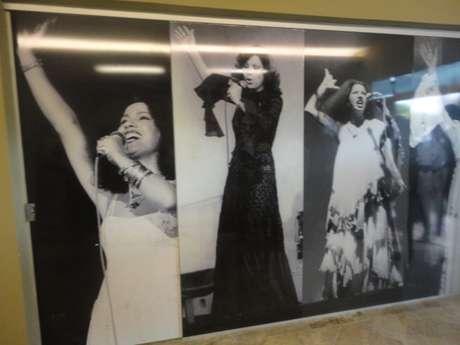 <p>Fotos de Clara Nunes são expostas no Memorial que leva seu nome em Caetanópolis, a 96 km de Belo Horizonte</p>