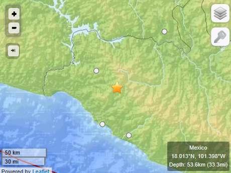 <p>De acuerdo con el Servicio Geológico de los Estados Unidos (United States Geological Survey, USGS), el temblor tuvo una magnitud de 5.2 grados con una profundidad de 53 km., en las costas de Guerrero.</p>