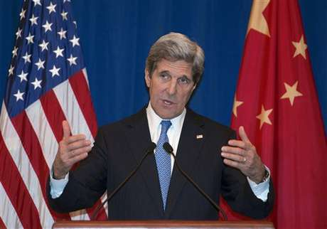 """La visita a Pekín del secretario de Estado estadounidense, John Kerry, ha afianzado la apuesta conjunta de EEUU y China de solucionar el conflicto de la península coreana mediante la vía """"pacífica"""" de las negociaciones, mientras pierde fuerza la posibilidad de que Pyongyang lance un misil en los próximos días."""