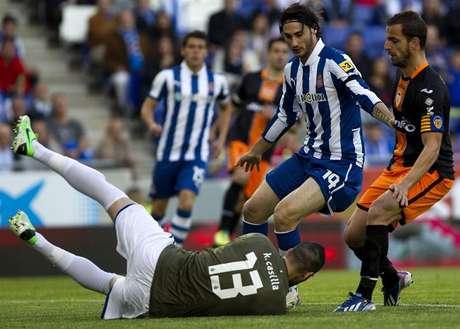 Espanyol - Valencia, jornada 31 de la Liga BBVA