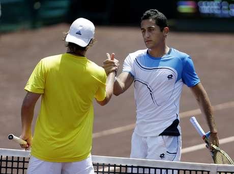 <p>Nicolás Almagro,venció al estadounidense Rhyne Williams y consiguió su pase a la final del torneo de Houston.</p>