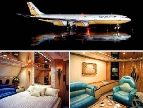 <p>Estas aeronaves tienen todos los lujos soñados, pisos de oro, cómodas habitaciones, pantallas, deliciosa gastronomía y demás.</p>