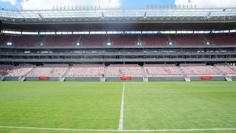 <p>Arena Pernambuco está quase pronta</p>