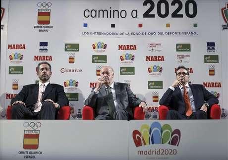 <p>El seleccionador nacional Vicente del Bosque.</p>