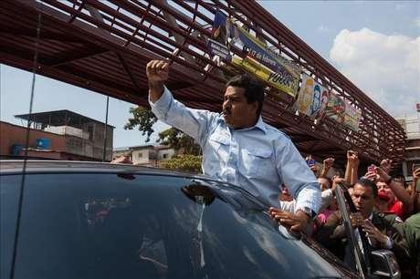 <p>Estrecho triunfo de Maduro.</p>