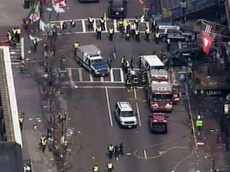 Dos personas, hasta el momento, han muerto tras las dos explosiones en Boston.