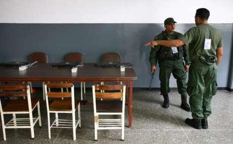 Los 140 mil efectivos del Plan República tomaron los centros electorales desde el pasado miércoles para resguardar el proceso electoral.