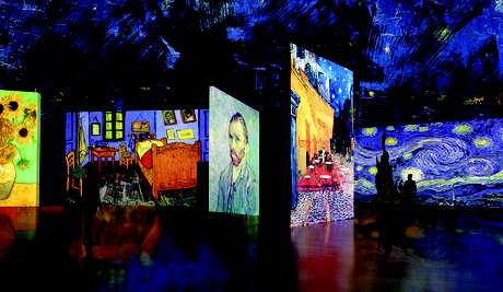 La muestra multimedial Van Gogh Alive ha sido vista por más de un millón de personas.