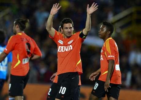 Messi visitará Colombia nuevamente para un juego amistoso con varias estrellas del futbol mundial
