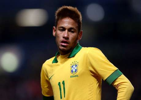 <p>Neymar currently plays for Santos in Brazil.</p>