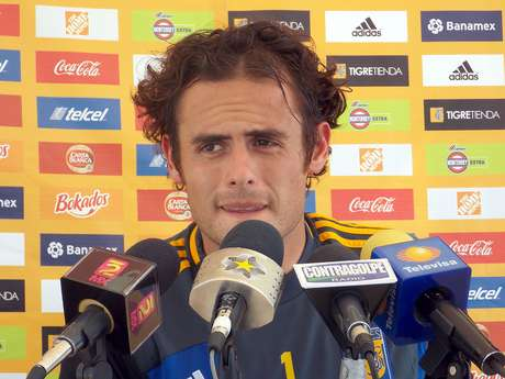 Enrique Palos, arquero de los Tigres de la UANL.