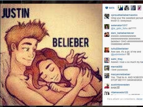 <p>Diversos sitios de entretenimiento cuestionan el fin de Justin Bieber por compartir dicha imagen.</p>