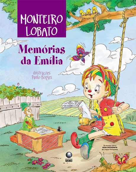 A boneca Emília é um dos principais personagens das histórias infantis de Monteiro Lobato