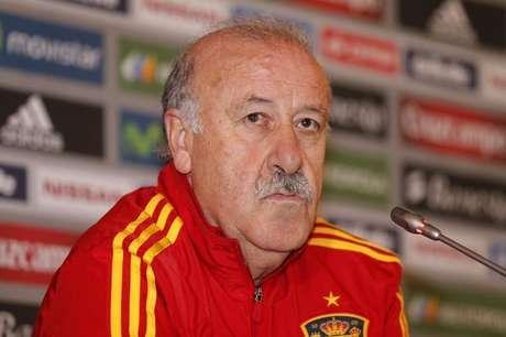 <p>El seleccionador español de fútbol, Vicente del Bosque</p>