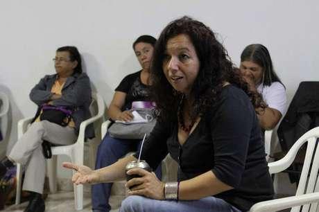 <p>'Nossa história nos diz que as mulheres sempre estiveram presentes na solução dos problemas, mas isso não se traduziu em representação política', afirmaLilian Soto,candidata feminista à presidência do Paraguai</p>