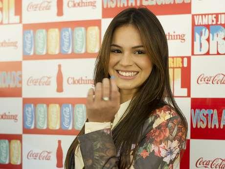 <p>A int&eacute;rprete de Lurdinha em &#39;Salve Jorge&#39; ir&aacute; desfilar pela grife Coca-Cola Clothing, quinta grife do dia a se apresentar no evento</p>