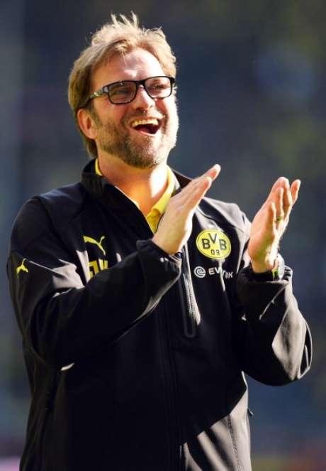 El entrenador del Borussia Dortmund, Jürgen Klopp