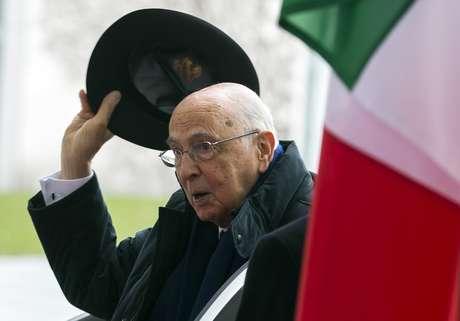 <p>Giorgio Napolitano</p>