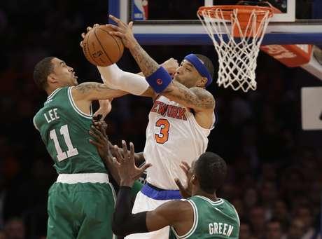 Knicks se ponen adelante 1-0 en la serie ante Celtics.