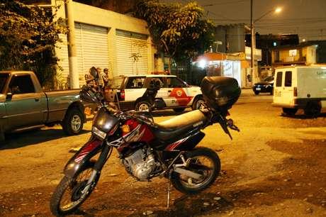 A moto do policial foi encontrada em uma avenida próxima ao local do crime